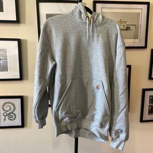 Carhartt Men's Gray hooded sweatshirt